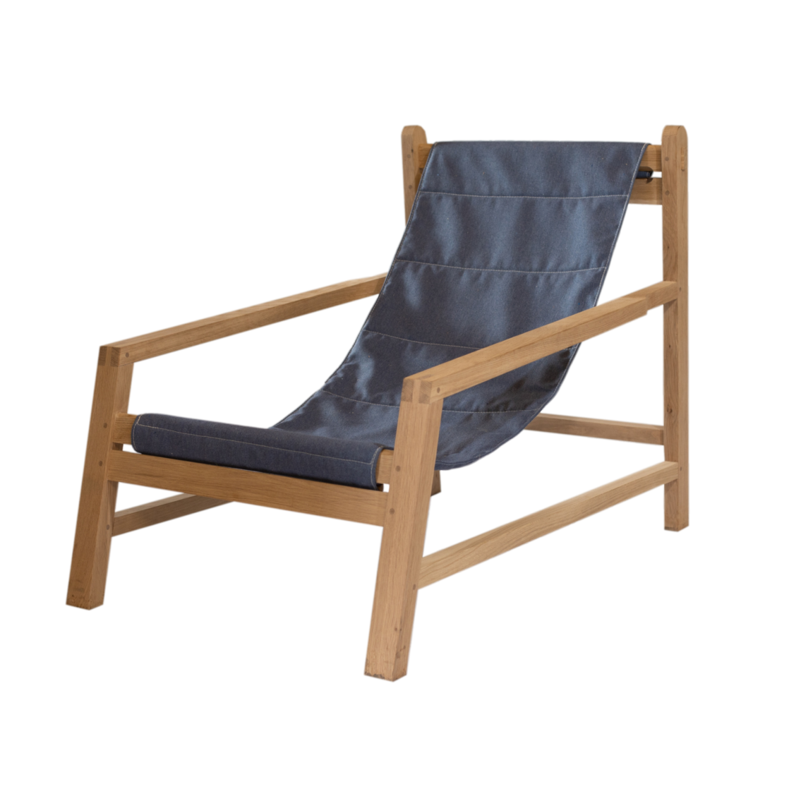 Dorothy Sling Chair Front - Denim