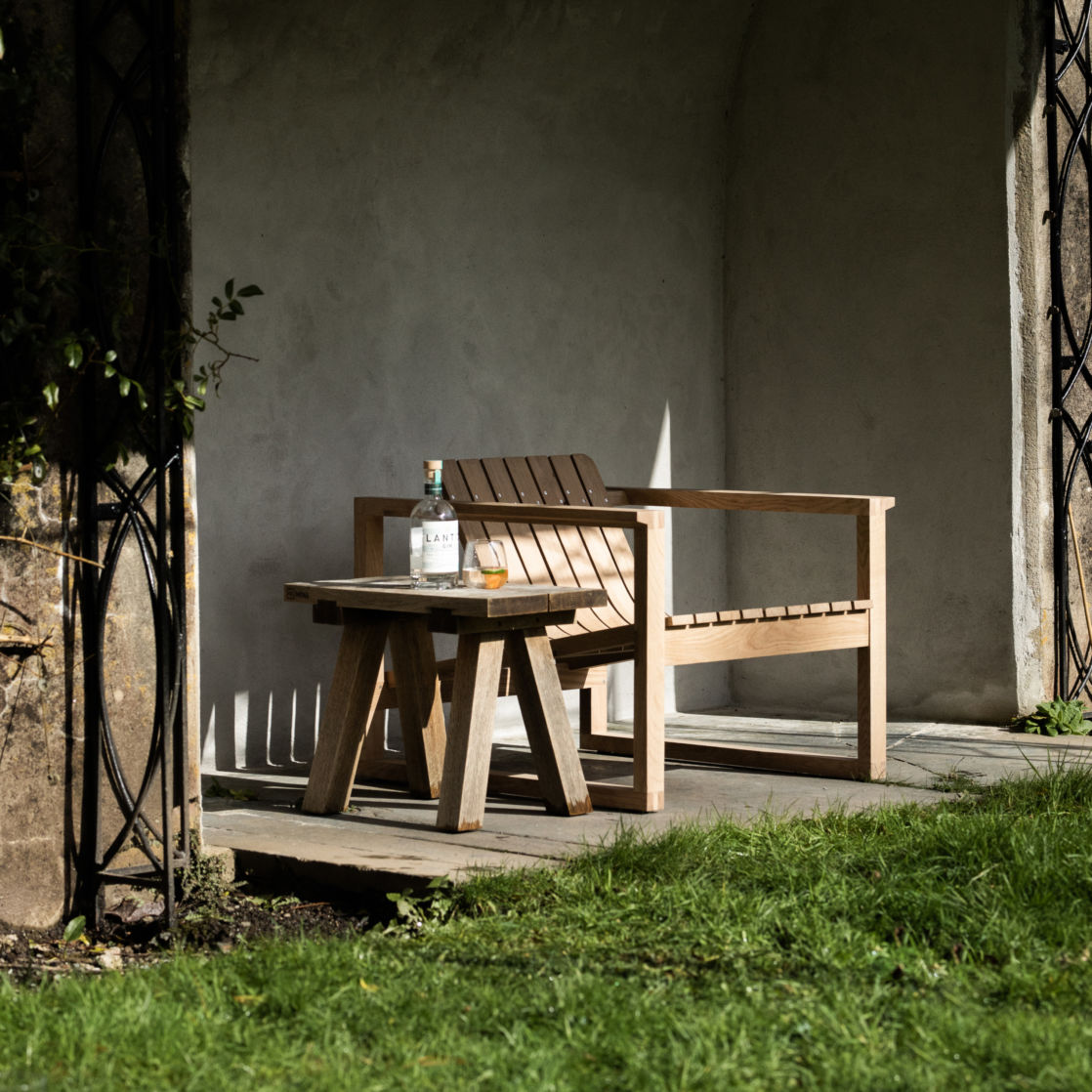 Huers Chair in Garden